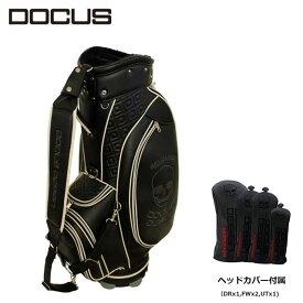 ドゥーカス キャディバッグ ヘッドカバーセット DOCUS Reloaded Tour リローデッド ツアー メンズ ゴルフ 9型 DCC754S かっこいい オシャレ クール 大人 コアーズ楽天市場店