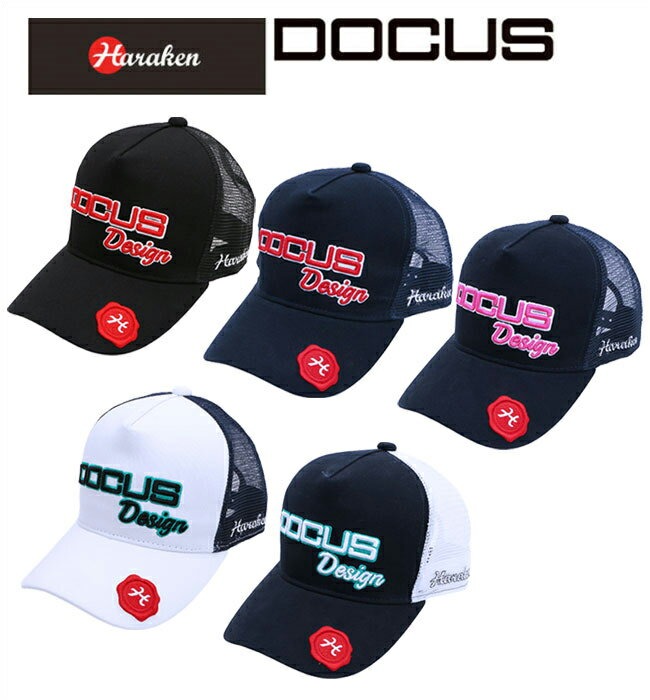 【ポイント10倍】ドゥーカス DOCUS メンズゴルフウェア Mesh Cap キャップ DCCP703 あす楽