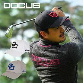 ドゥーカス DOCUS キャップ DC CAP アジャスタブル メンズ ゴルフ キャップ DCCP705 あす楽