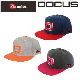 ドゥーカス DOCUS フラットキャップ BIG D FLAT CAP メンズ ゴルフ フラット キャップ DCCP708 あす楽