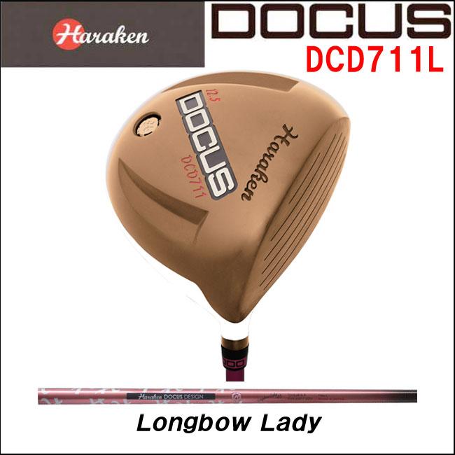 【ポイント15倍】ドゥーカス DOCUS レディースゴルフクラブ ドライバー DCD711L Longbow Lady