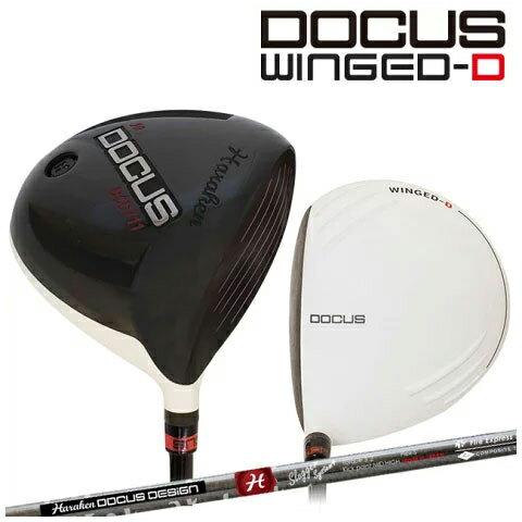 【ポイント10倍】ドゥーカス DOCUS メンズゴルフクラブ DCD711 WINGED-Dメンズ ドライバー DOCUS Slugger System4