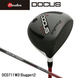 ドゥーカス DOCUS メンズ ゴルフ クラブ DCD711 WINGED-D SluggerT2シャフト装着モデル ドライバー DOCUS