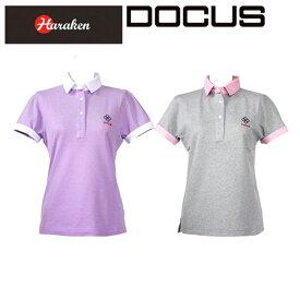 (クリアランス)ドゥーカス DOCUS レディースゴルフウェア クレリック シャツ DCL16S002 あす楽