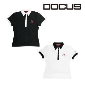 ドゥーカス DOCUS レディースゴルフウェア DDスムースポロシャツ シャツ DCL18S001 あす楽