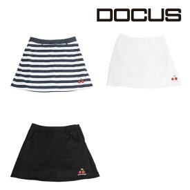 (クリアランス)ドゥーカス バックプリーツ スカート レディース ウィメンズ 大人 かわいい おしゃれ 女子 2019年 春夏 ゴルフウェア DOCUS DCL18S003 あす楽