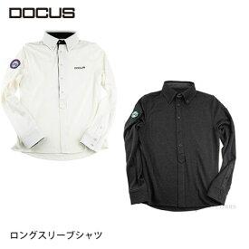 ドゥーカス ロングスリーブ シャツ メンズ 大人 クール かっこいい おしゃれ 秋冬 ゴルフ ウェア DOCUS DCM18A004 ユナイテッドコアーズ あす楽