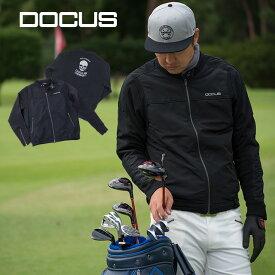ドゥーカス ライダース ジャケット メンズ ゴルフウェア 洋服 大人 かっこいい クール ロック DOCUS Riders Jacket DCM19A006 コアーズ楽天市場店 あす楽 rss-21sep