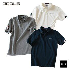 (クリアランス)クラブ ポロシャツ ドゥーカス 2020 春夏 ゴルフ ウェア メンズ 大人 かっこいい おしゃれ 半袖 ポロ DOCUS Club Polo dcm20s001 コアーズ楽天市場店 あす楽