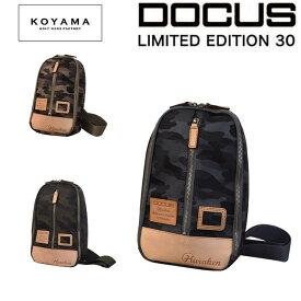 ドゥーカス 日本製 ボディバッグ 小山ゴルフ コラボモデル メンズ レディース 限定生産 ハンドメイド 国産バッグ ショルダー 【DOCUS】 メンズゴルフ モデル あす楽