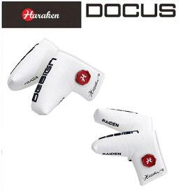 (あす楽)ドゥーカス DOCUS メンズゴルフ パターカバー マーカーセット Putter Cover Marker set for RAIDEN & HUGA