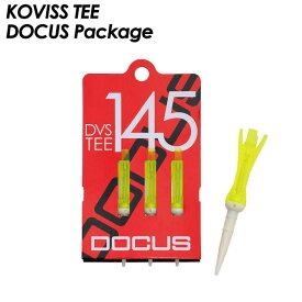 コビスゴルフ KOVISS GOLF ドゥーカス DOCUSパッケージバージョン ゴルフティー DOCUS VS TEE DVS145 サイズ L (80mm) ドゥーカスコラボレーション