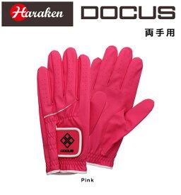 ドゥーカス DOCUS ゴルフ グローブ Glove DCGL-COLOR 702W パッシモピンク 両手用 18〜21cm あす楽