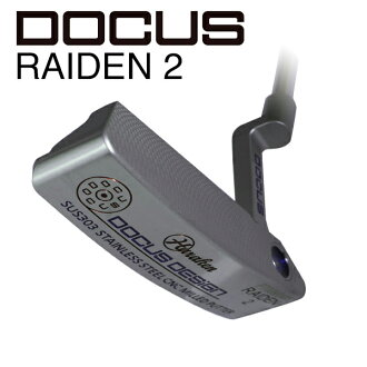Doe refuse DOCUS men golf club putter RAIDEN 2 Leiden 2 steel shaft