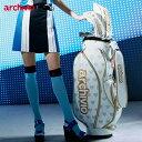 アルチビオ キャディバッグ レディース ウィメンズ 大人 かわいい おしゃれ ゴルフ バッグ archivio A850415 2019 ユナイテッドコアー…