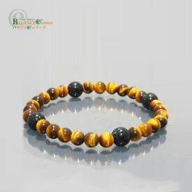 バランスE 天然石 ブレスレット 100S タイガーアイ [M-L] BALANCE e Bracelet あす楽