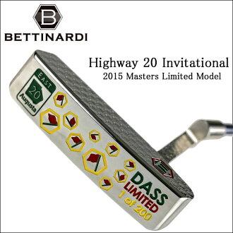 贝蒂纳尔迪高尔夫女子铅球运动员公路 20 邀请赛大师 MODELRJB6684
