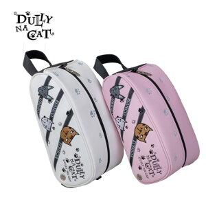ダリーナキャット DULLY NA CAT メンズ レディース ゴルフ シューズケース シューズバック Shoesbag 靴入れ GOLF BAG DN-SB03 コアーズ楽天市場店 取り寄せ
