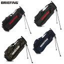 ブリーフィング BRIEFING メンズゴルフ スタンド キャディバッグ CR-4 BRF527219 BRG183701 あす楽