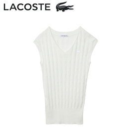 a22a0fce0695 ラコステ LACOSTE レディース アーガイルベスト AF240E