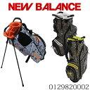 ニューバランス スタンド式 9.5型 キャディバッグ ゴルフ メンズ レディース 大人 かっこいい おしゃれ ヒョウ柄 ボタニカル柄 ゴルフ …