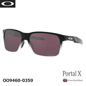 (クリアランス)オークリー サングラス ポータルイックス プリズムオプティクス マイクロバック付属 Portal X Prizm Road Black Matte Black Ink Fade Standard OAKLEY OO9460-0359 あす楽