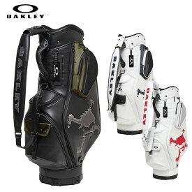 オークリー OAKLEY キャディバック ゴルフ メンズ Skull Golf Bag 14.0 スカル 9.5型 かっこいい ホワイト ブラック fos900201-106