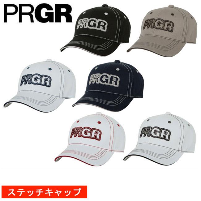 プロギア PRGR メンズ ゴルフ キャップ ステッチ 契約プロ着用予定 PCAP-102 2018 あす楽