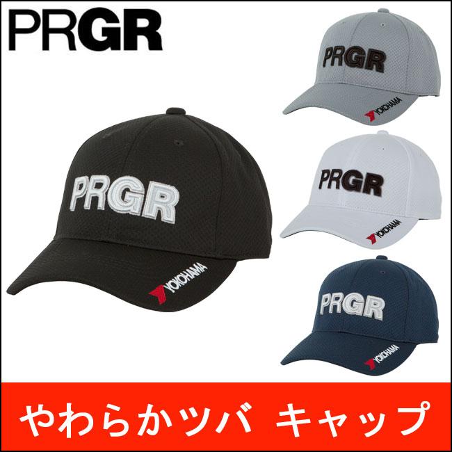 プロギア PRGR メンズ ゴルフ キャップ やわらかツバ 契約プロ着用予定 PCAP-181 2018 あす楽