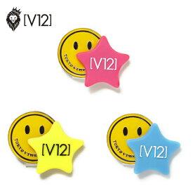 ヴィトゥエルヴ ゴルフマーカー スターマーカー おしゃれ かわいい ピンク イエロー ブルー V12 12STAR MARKER V121820-AC01 ユナイテッドコアーズ