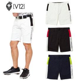 【エントリー不要 マラソン期間中全品P2倍】V12 ヴィ トゥエルヴ SP SHORTS 半ズボン ショートパンツ パンツ ゴルフウェア メンズ シンプル かっこいい V121910-PN04 コアーズ楽天市場店 あす楽