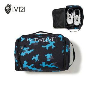 ヴィトゥエルヴ V12 メンズ レディース ユニセックス ゴルフ シューズケース SHOES CASE コンパクト 収納 V122020-BG01