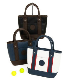 AM レザー風 配色カートバッグ Admiral Golf アドミラルゴルフ 18秋冬新作 ゴルフウェア レディース