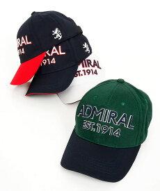 AM 配色orシンプル ロゴ刺繍キャップ Admiral Golf アドミラルゴルフ 18秋冬新作 ゴルフウェア レディース
