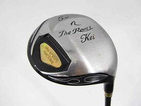 【2点以上送料無料】【即納】【中古】ルーツゴルフ(ゴーセン) The ルーツ KEI フェアウェイ MISASAGI 5W