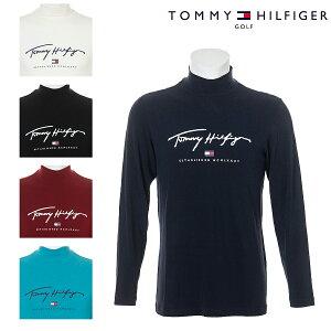 ハイネック 長袖シャツ トミーヒルフィガー THMA178 メンズ ゴルフウェア