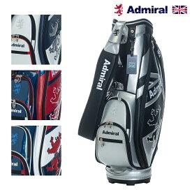 キャディバッグ ゴルフバッグ アドミラル ADMG1AC5 カート キャディバッグ スマートスポーツ ゴルフ用品 メンズ レディース