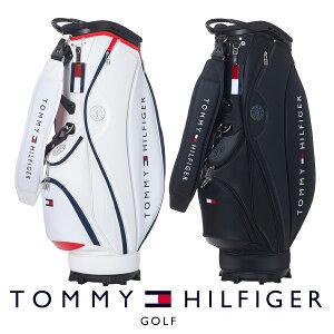 【ネームプレート刻印無料】キャディバッグ トミーヒルフィガー 21F CB トライアングルエンボス THMG1FC2 ゴルフ用品 メンズ レディース