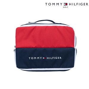 【割引クーポン発行中】ゴルフシューズケース 靴 袋 メンズ レディース トミー ヒルフィガー SIGNATURE SHOES CASE THMG9FS2