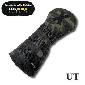 CORDURA コーデュラ ヘッドカバー ユーティリティ用 ブラックカモ マルチカム 1000デニール UT C004-BC