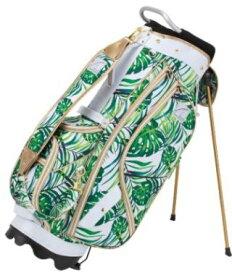 ゴルフ キャディーバッグ アキラ AKIRA 2019 STAND CADDIE BAG BOTANICAL柄 2019限定モデル