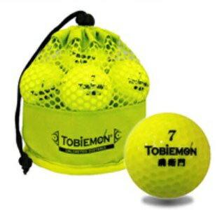 TOBIEMON 飛衛門 メッシュバッグ入り スタンダード 2ピース ゴルフボール 12球