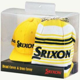 ゴルフ ヘッドカバー&アイアンカバーセット スリクソン GGF-70160 DUNLOP ダンロップ SRIXON 2018モデル