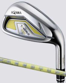 ゴルフ クラブ アイアン レディース 本間ゴルフ ホンマ ツアーワールド GS レディス アイアン7本セット(6〜SW) HONMA T//WORLD GS Ladies IRON 2021モデル