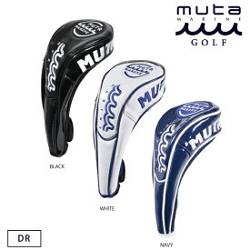 muta MARINE GOLF ムータマリンゴルフ メンズ レディース PUエナメルヘッドカバー ドライバー用 【全3色】 MGAD-750021 春夏 2021