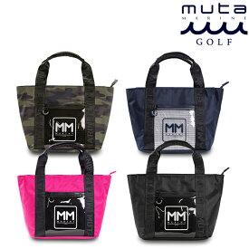 muta MARINE GOLF ムータマリンゴルフ メンズ レディース MMトートバッグ【全4色】クリアポケット MMBC-200903 春夏 2021