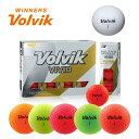 2018 NEW パッケージ ボルビック Volvik VIVID ゴルフボール 1ダース (12球入り)【メール便不可】【あす楽対応】