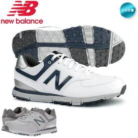 ニューバランス 574 SL NBG574 スパイクレス ゴルフシューズ 4E US仕様 new balance USモデル【メール便不可】【あす楽対応】