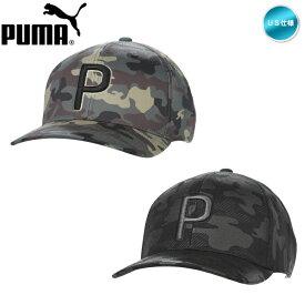 2020 プーマ CAMO PATTERN SNAPBACK Cap キャップ USモデル 023065【メール便不可】【あす楽対応】