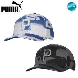 2020 プーマ PAINT PATTERN SNAPBACK Cap キャップ USモデル 023067【メール便不可】【あす楽対応】